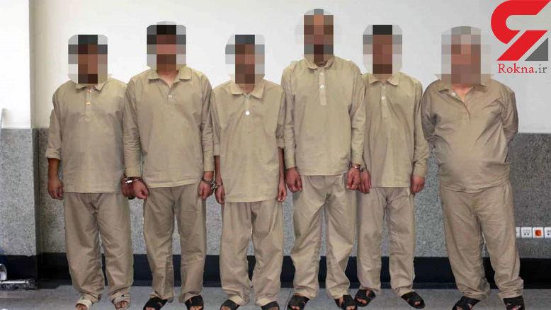 سو استفاده پلید 5 مرد از یک زن! / آنها با جیب های پرپول از ایران فرار می کردند! +عکس