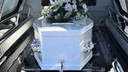 وضعیت عجیب یک جسد در مراسم تشییع جنازه + فیلم