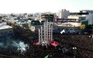 عزادارای باشکوه در زنجان + تصاویر