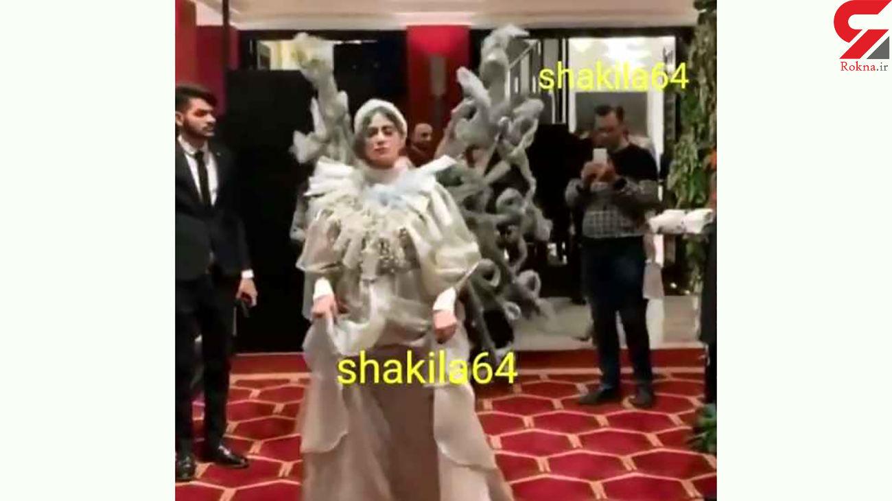 فشن شوی ایرانی با لباس های عجیب و غریب + فیلم