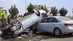 مصدومیت 8 مسافر با واژگونی خودرو در زنجان