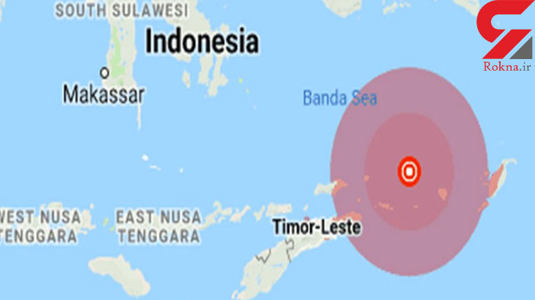 زلزله 6.3 ریشتری در جنوب شرق اندونزی موجب وحشت مردم شد