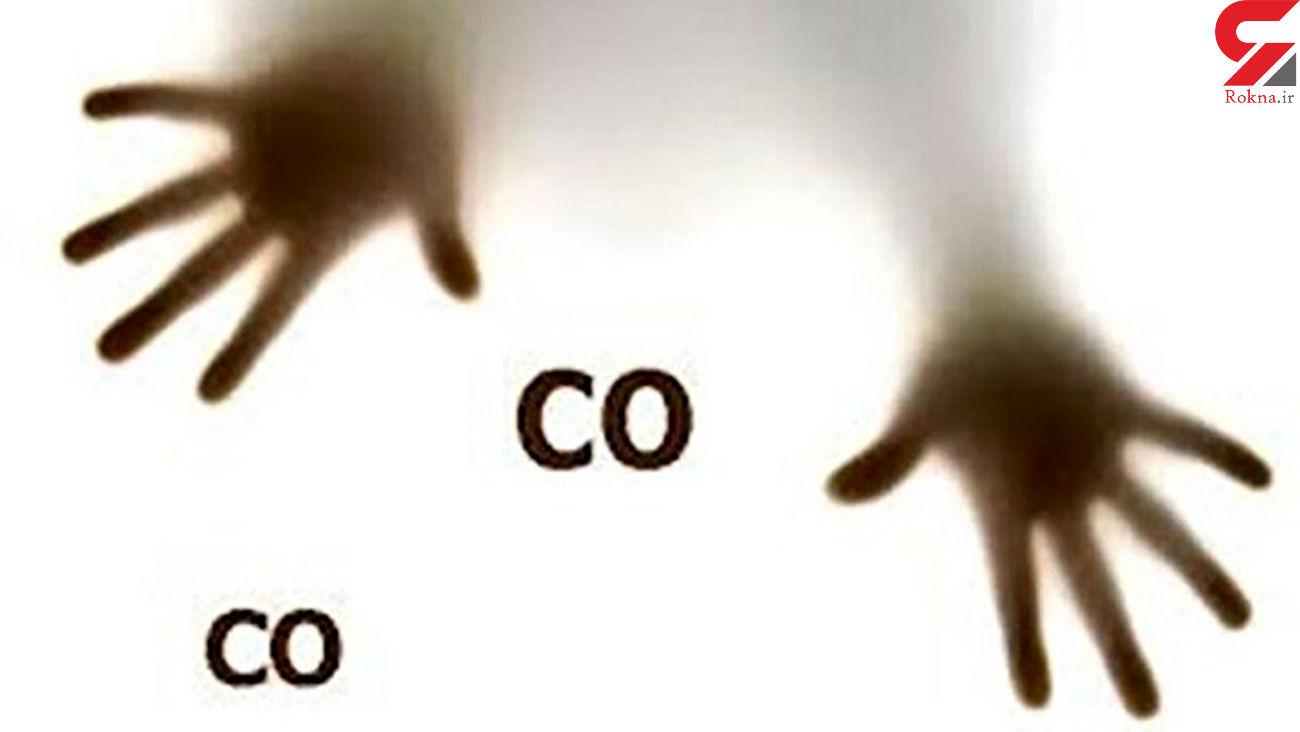 مسمومیت 14 نفر با گاز مونوکسید کربن در چهارمحال و بختیاری