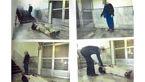 قتل در راهروی دفترخانه +عکس
