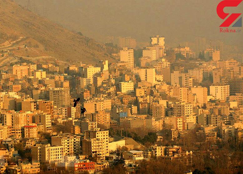 شاخص آلودگی هوای تهران به 155 رسید