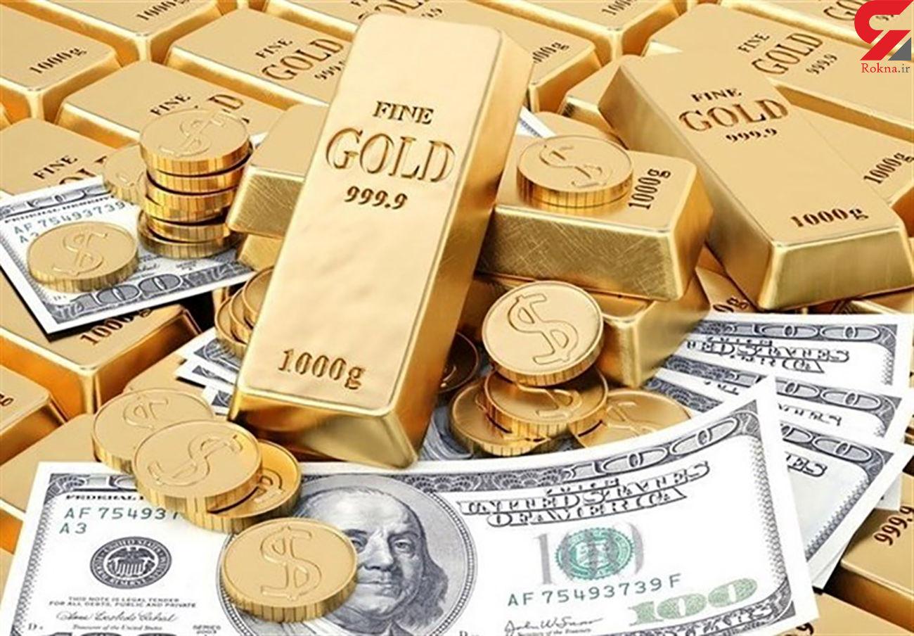 قیمت سکه ، طلا ، دلار و ارز در 16 مرداد ماه