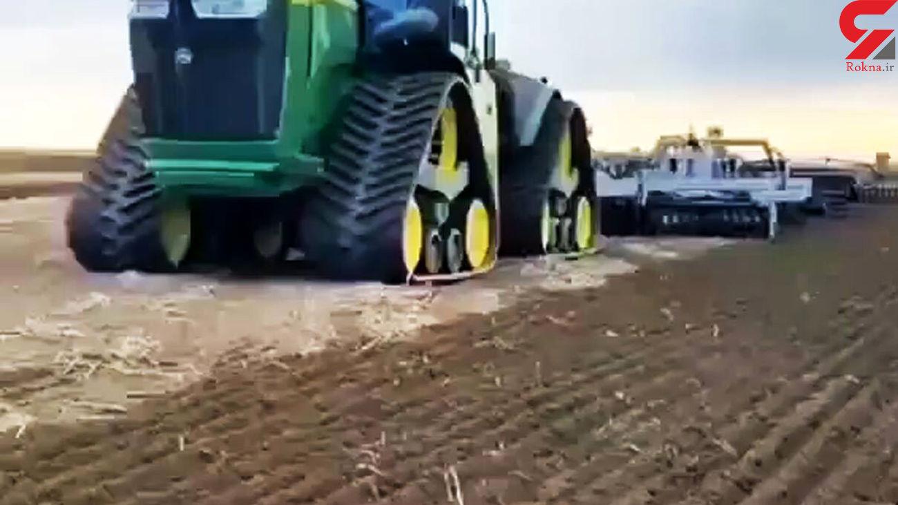 ساخت دستگاه هایی برای کشاورزی ساده تر + فیلم