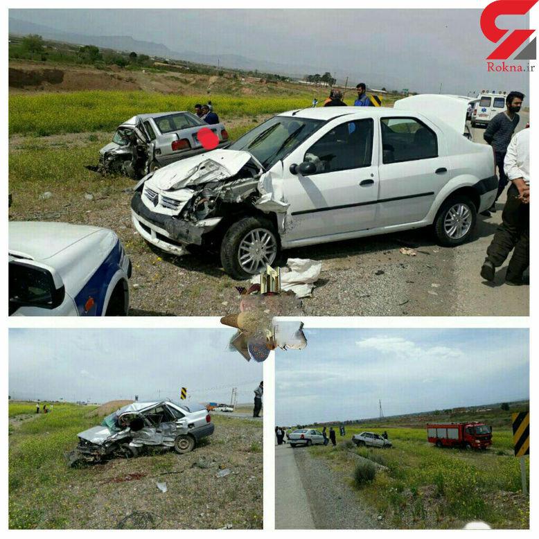 یک کشته و سه مجروح در حادثه رانندگی