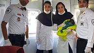 تولدی دیگر در آمبولانس مشهد + عکس