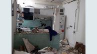 نشت گاز شهری موجب انفجار منزل مسکونی شد