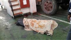 عکس جسد مرد بدشانس در جزیره قشم / تریلی بدون راننده فاجعه آفرید