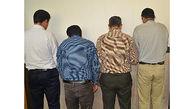 دستگیری اعضای باند حفار غیرمجاز در شهرستان خانمیرزا