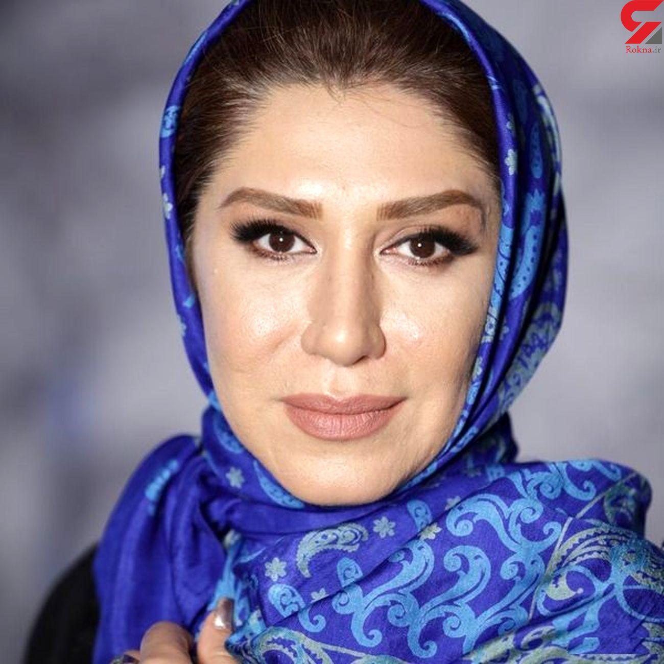 عکس های عجیب بازیگر زن ایرانی در آخرین یلدای قرن