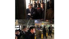 شهردار تهران در نهمین سه شنبه بدون خودرو با BRT + عکس ها