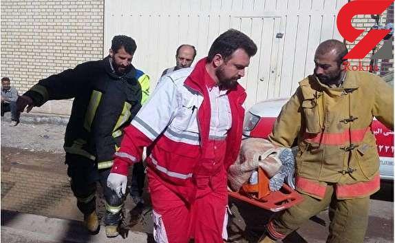 سقوط تلخ 4 کارگر جوان با آسانسور مرگ در صوفیان/ پدر یک شبه داغدار 2 پسرش شد
