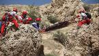 سقوط مرگبار مرد جوان از کوه قلعه بزی
