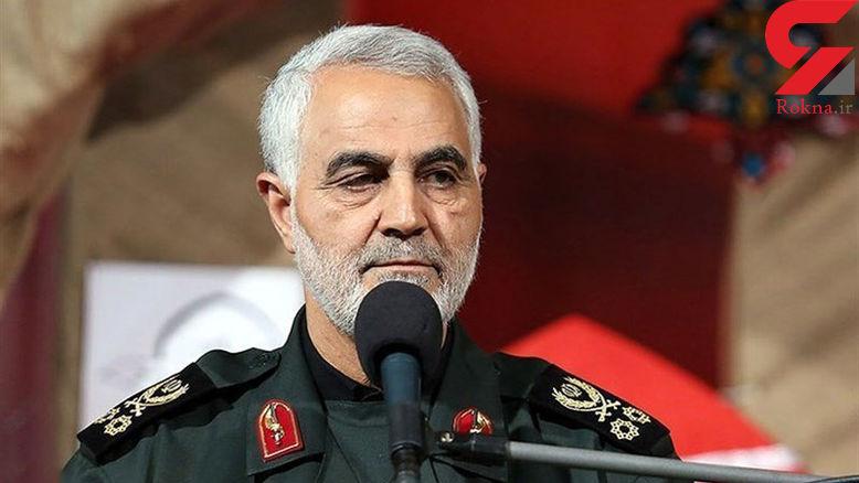 سردار سلیمانی نشان ذوالفقار را از رهبر انقلاب دریافت کرد