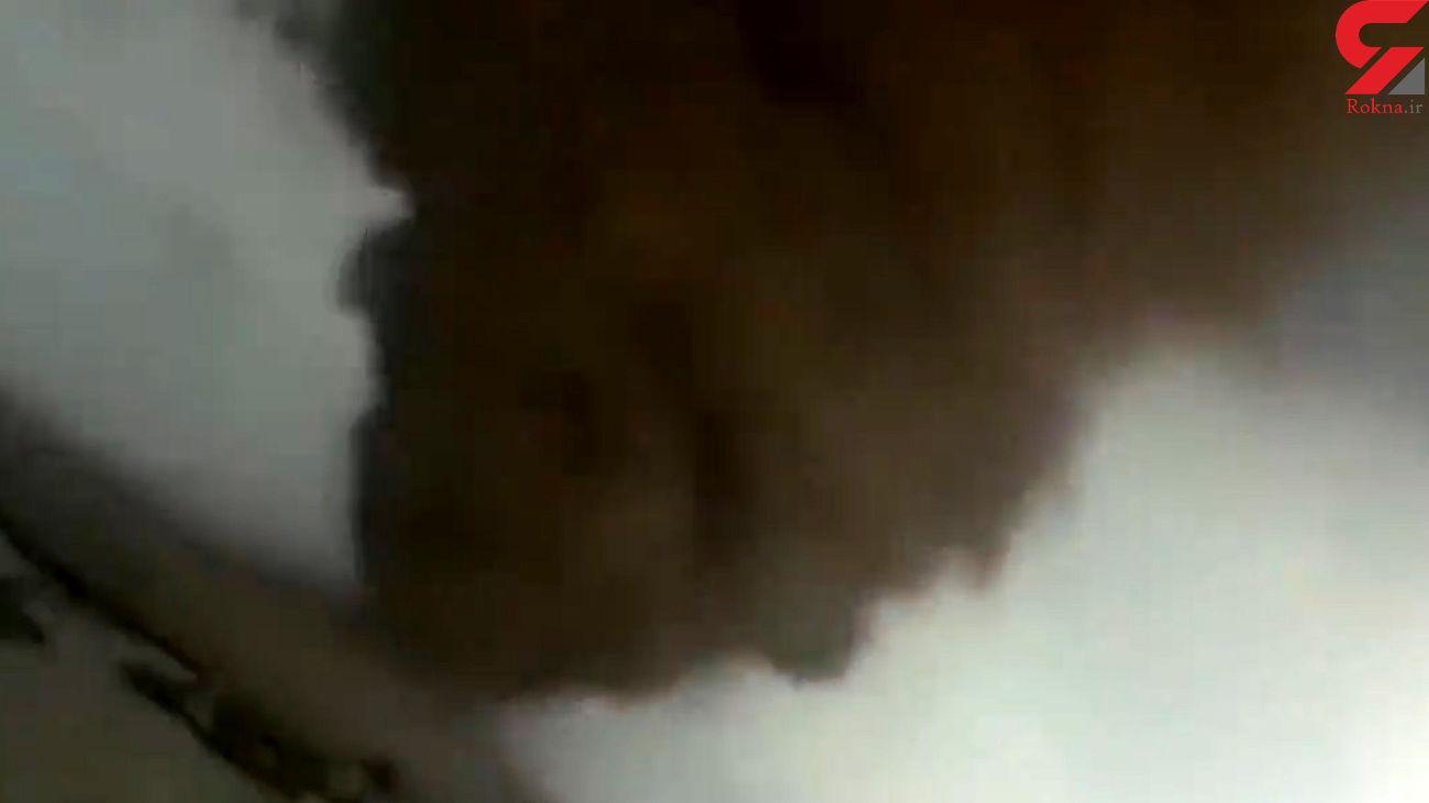 فیلم اولین گردباد ویران کننده در ایران / در کهگیلویه رخ داد