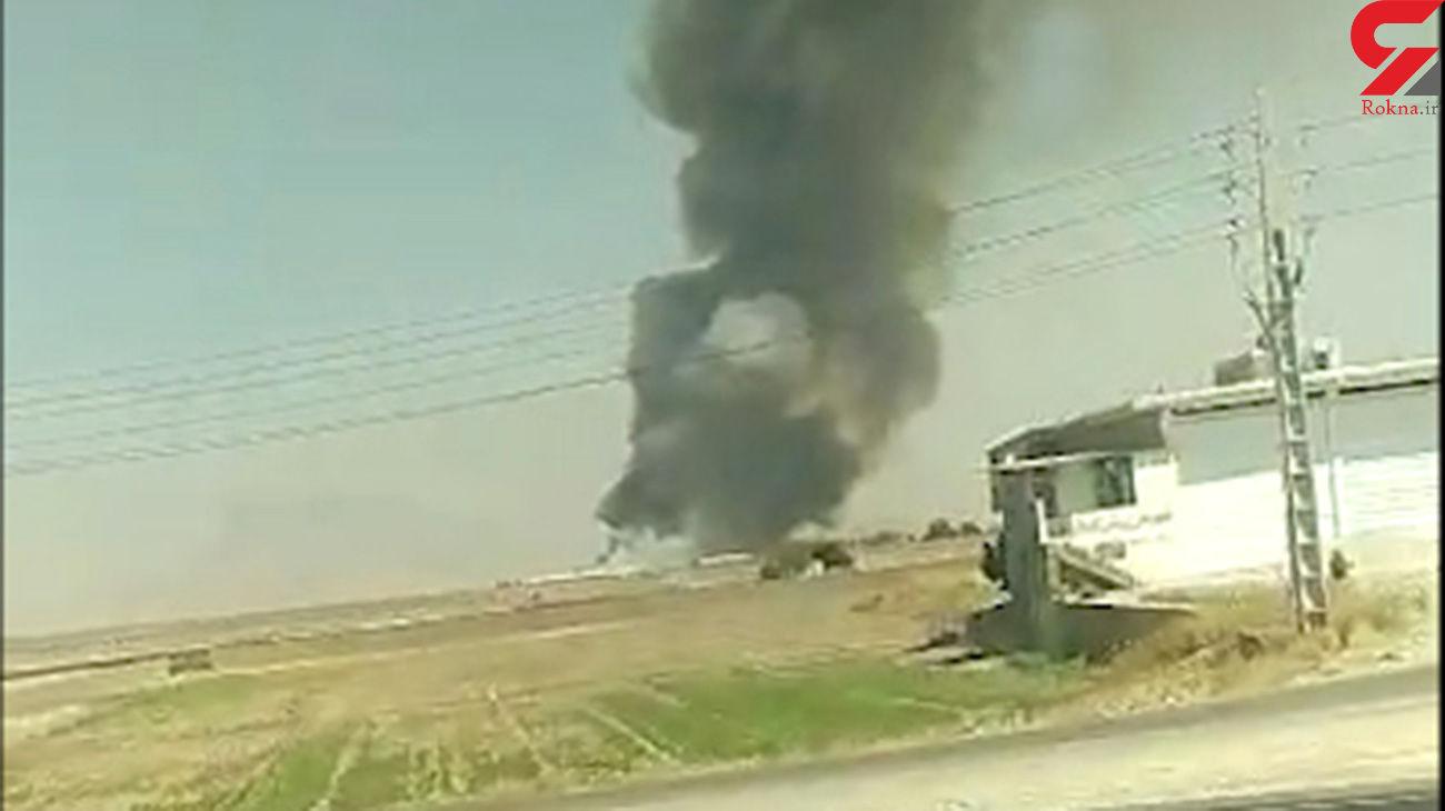 آخرین خبر از سقوط هلیکوپتر در مرودشت + فیلم