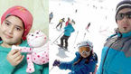 جزئیات سقوط  محدثه اسکی باز 9 ساله از تله لسکی دربندسر+عکس