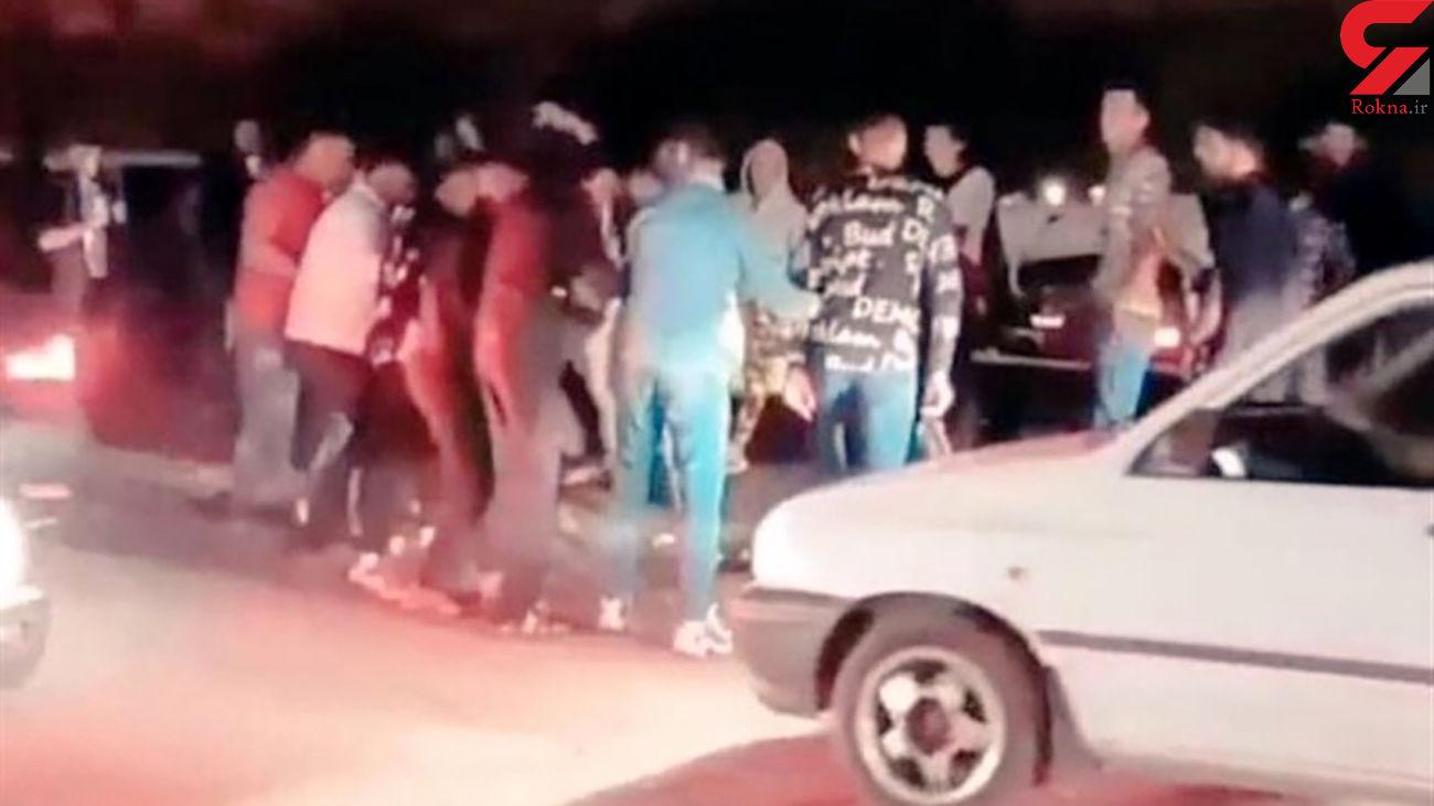 جنجال کلیپ رقص جوانان درخیابان های ارومیه / پلیس وارد عمل شد