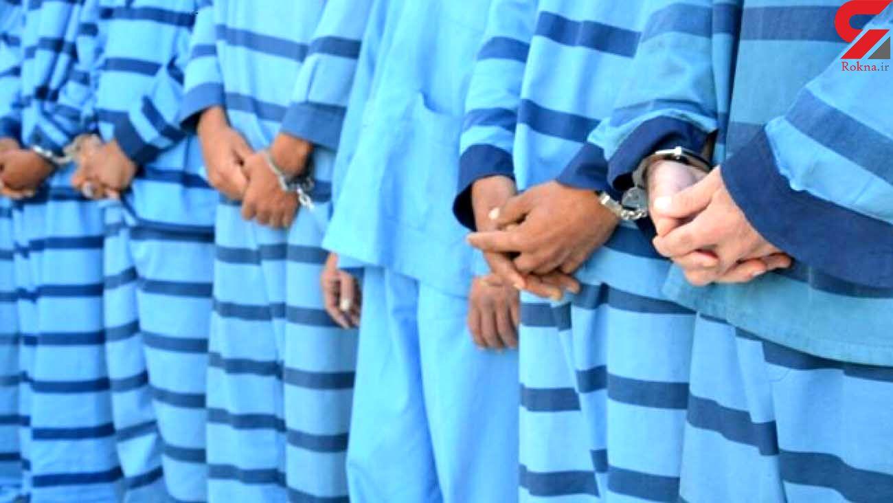 انهدام باند دزدان نیسان سوار در ساری / همگی سابقه دار بودند