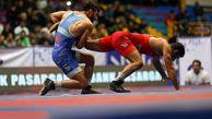 کشتی آزاد ایران صاحب سومین سهمیه المپیک شد