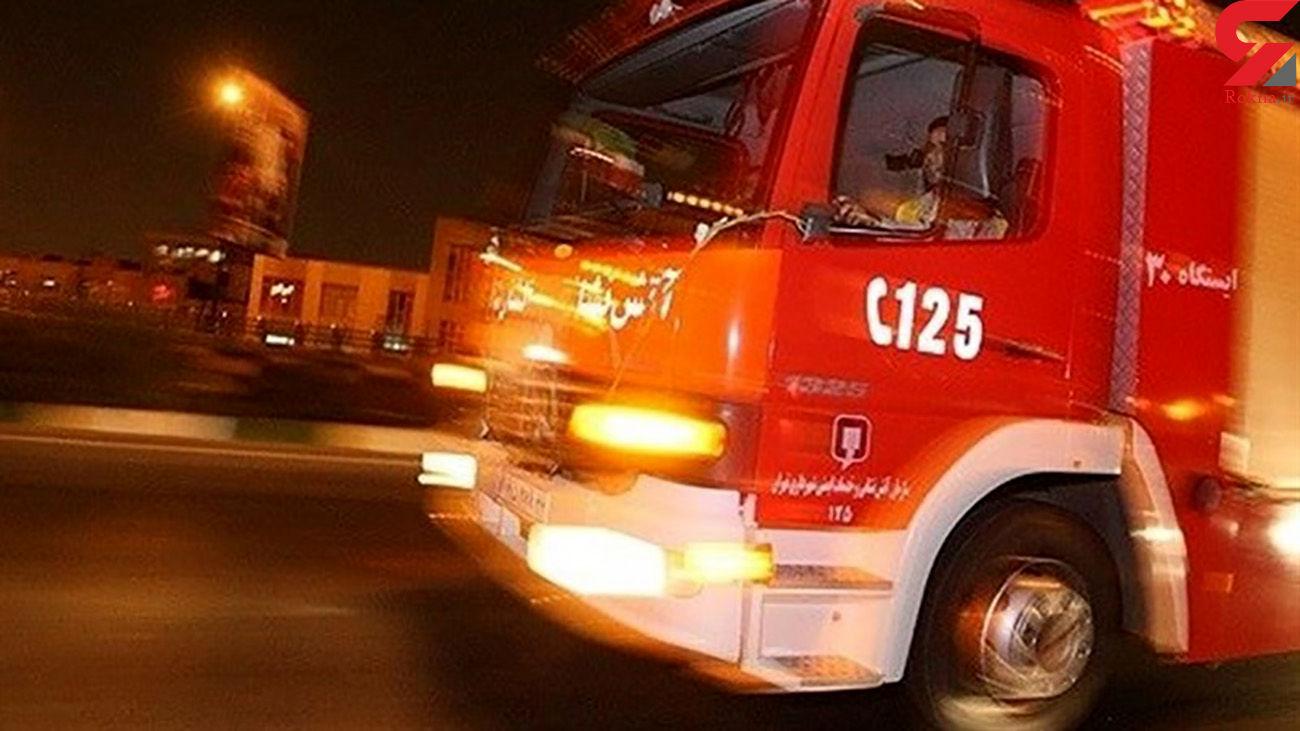 آتشسوزی تانکر ۳۰ هزار لیتری در جنوب تهران / ماموریت خطرناک برای آتشنشانان + فیلم