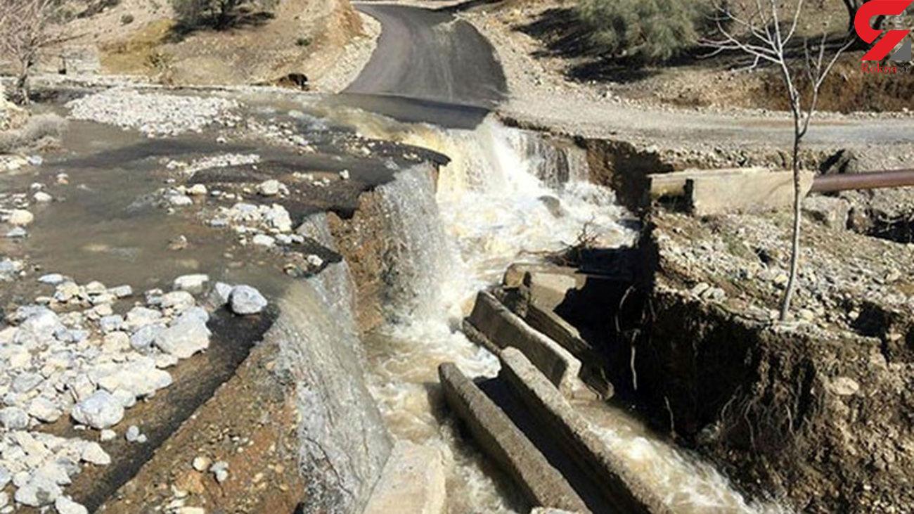 بازگشایی راه سیل گرفته 24 روستا در خراسان شمالی
