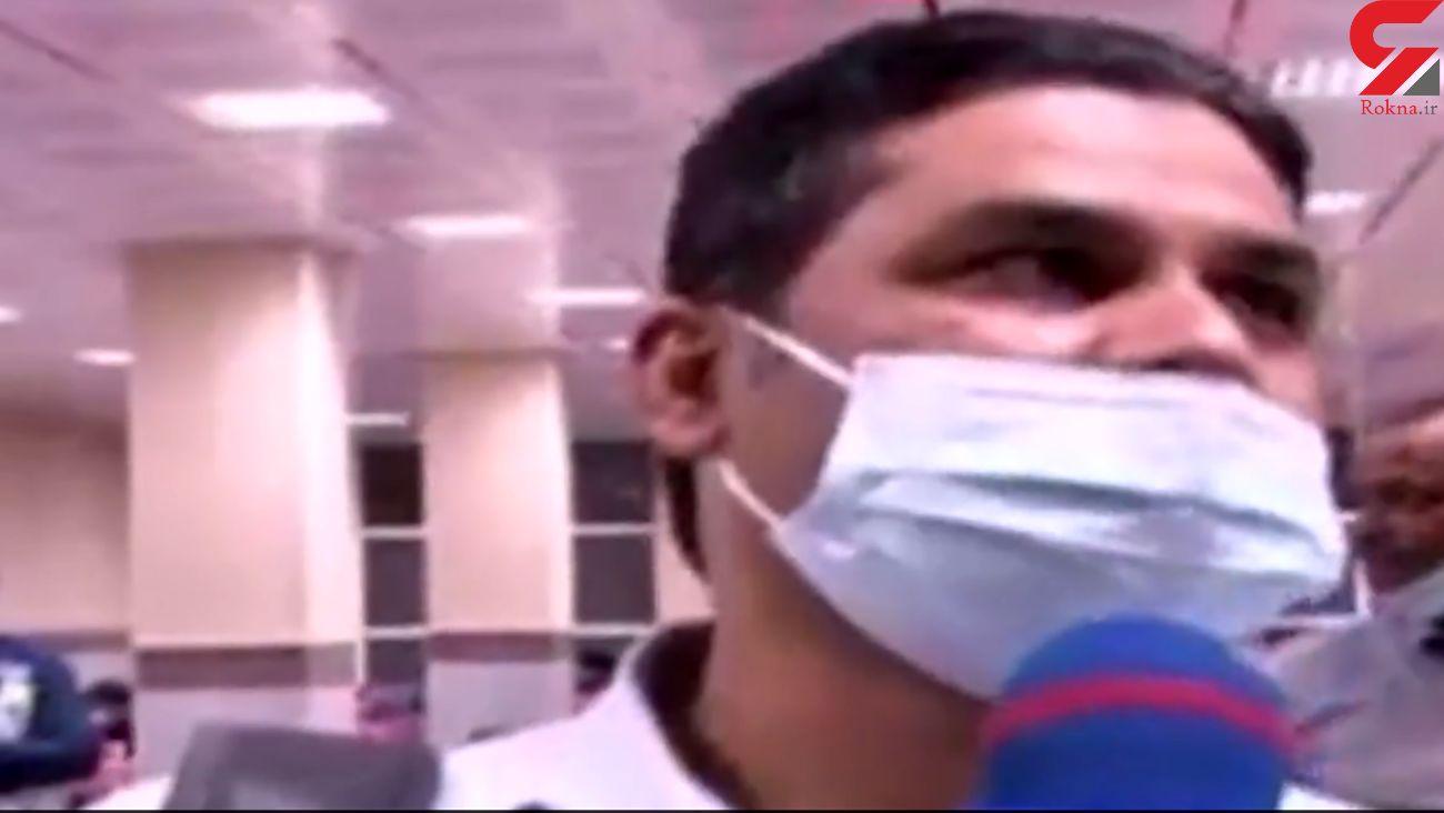 فیلم گفتگو با مسافران هواپیمای هندی پس از فرود اضطراری در زاهدان