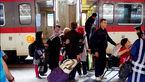 کولر قطار اهواز - مشهد صدای مسافران را درآورد