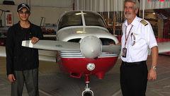 دزدیدن هواپیمای جنگی توسط دانشجوی 22 ساله+عکس