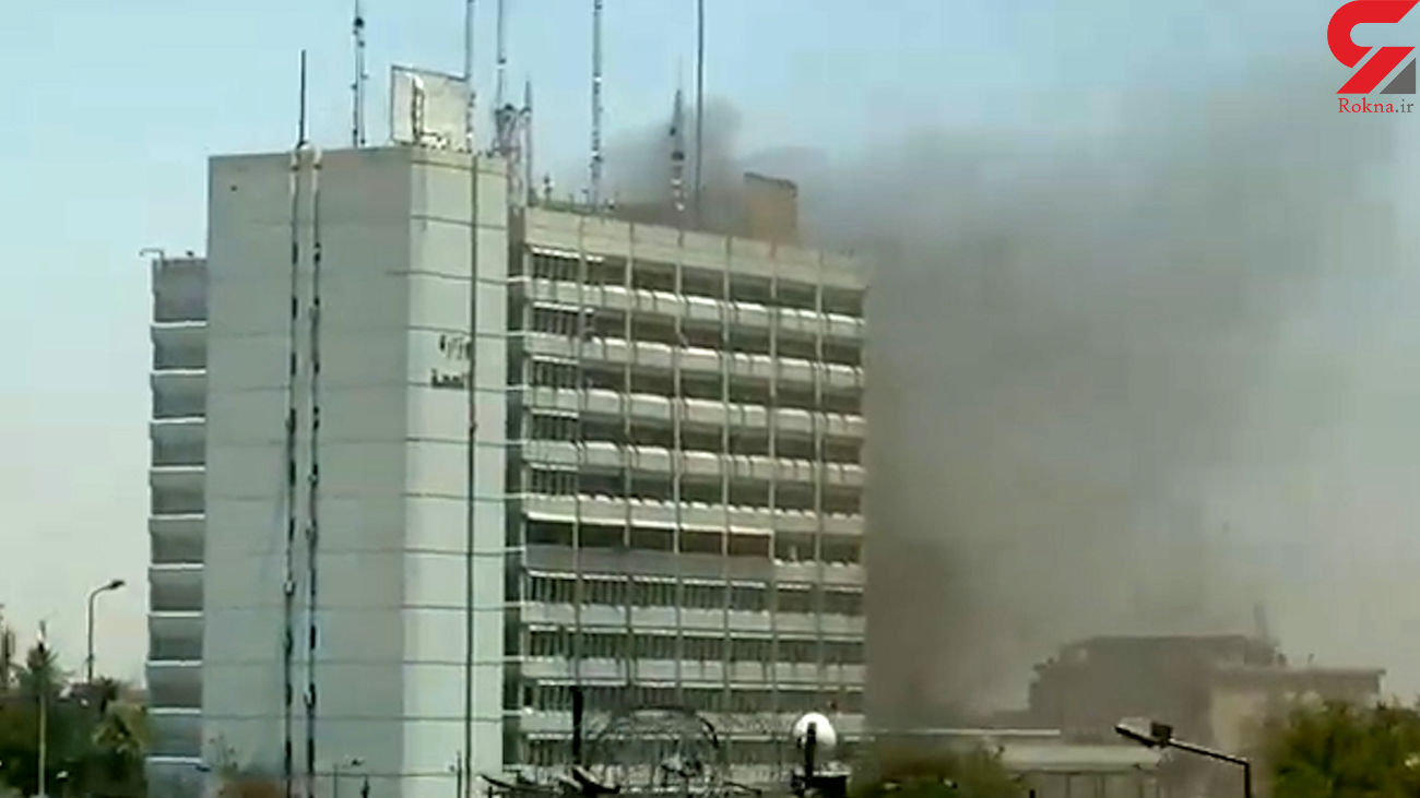 Massive fire breaks out at Iraqi Ministry of Health (+VIDEO)
