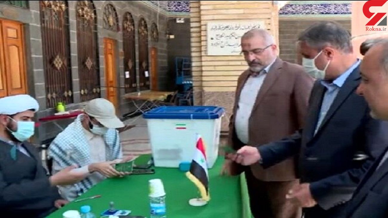 وزیر راه و شهرسازی در انتخابات 1400 شرکت کرد / او در حرم حضرت زینب (س) رای داد