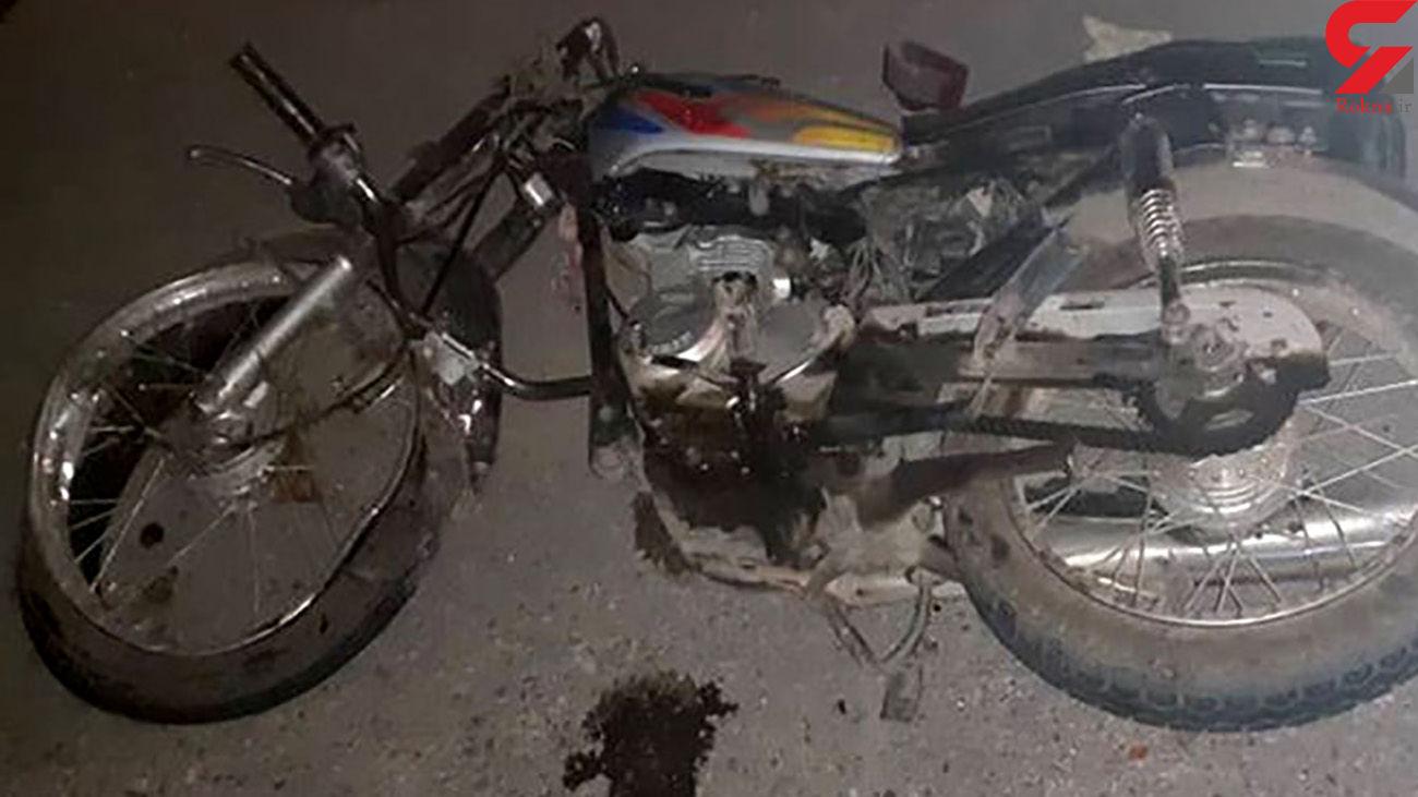 3 کشته در تصادف شدید دو موتور سیکلت در زنجان