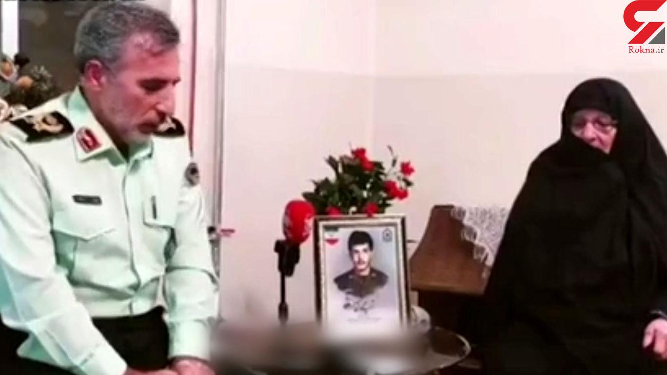 لحظه اعلام خبر شناسایی شهید محمد آقالر به مادرش بعد از ۳۳ سال + فیلم