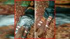 فاجعه بخاری نفتی در مدرسه زهک سیستان / پاهای پسردانش آموز از کار افتاد+عکس دردناک