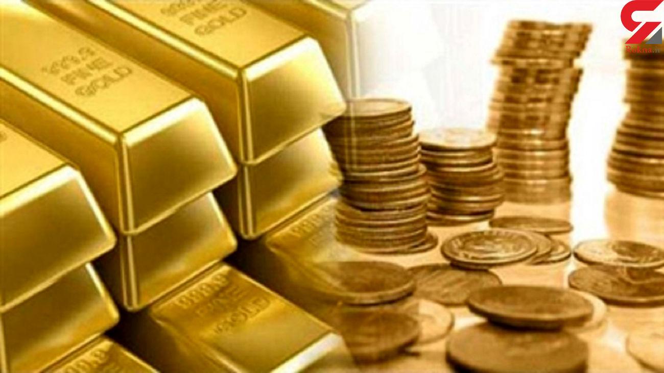 ریزش بورس بازار طلا را سکه کرد !