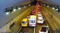 رفتار جالب راننده های چینی با شنیدن صدای آژیر آمبولانس + فیلم