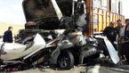 عکس هایی عجیب از یک تصادف  در جاده سقز+ عکس