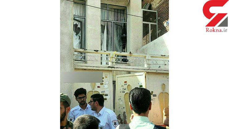 انفجار خانه در اردبیل+ عکس