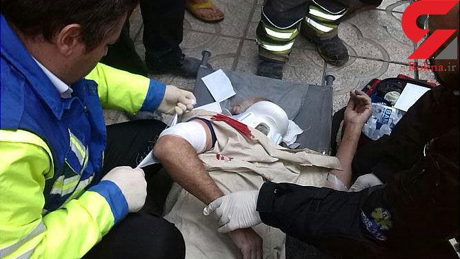 حادثه ای خونین به دلیل تخریب غیر اصولی یک ساختمان در تهران+ تصاویر