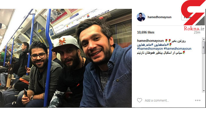 خواننده محبوب در مترو تهران+ عکس