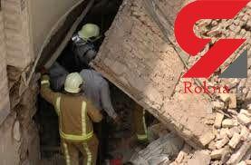 مرگ تلخ مرد میانسال بر اثر ریزش دیوار در اردستان +عکس