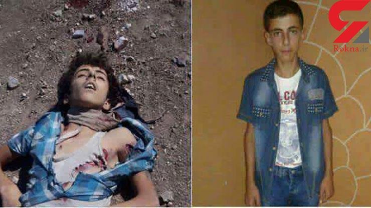عکس غم انگیز اعدام پسر 13 ساله توسط جندالاقصی