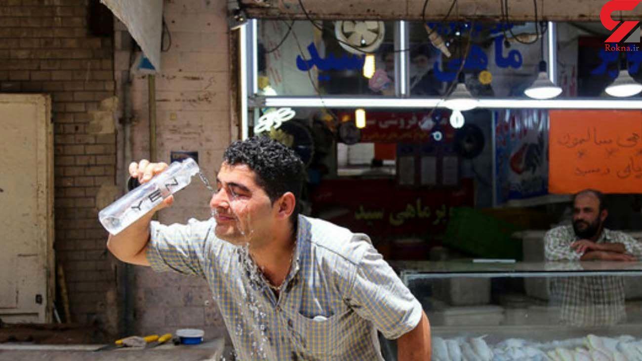 گرمای شدید هوا خوزستان را به تعطیلی کشاند
