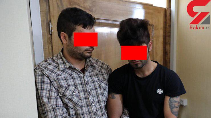دوئل دزدان شبانه تهران با پلیس در خانه اعیانی