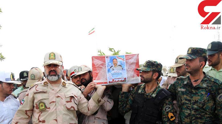 پیکر شهید مبارز با سوداگران مرگ در فسا درخاک آرمید