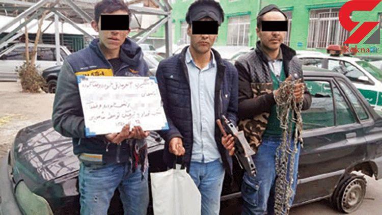 درگیری مسلحانه پلیس مشهد با «دزدان هپروتی»
