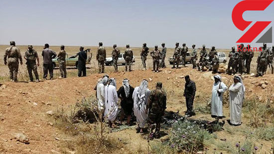 کشف جسد جزغاله شده 9 جوان عراقی +عکس